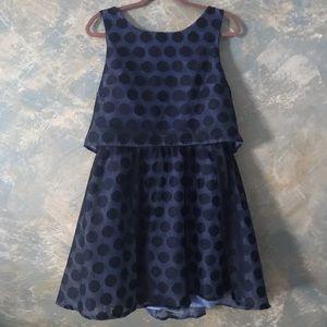 Betsy Johnson - Blue Lace Dots